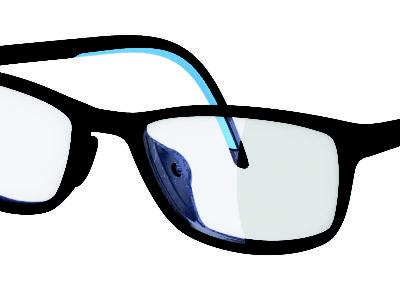 Adidas Eyewear Fusion Blue Black