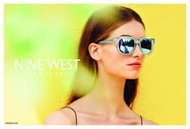 Nine West Eyewear White Sunglasses