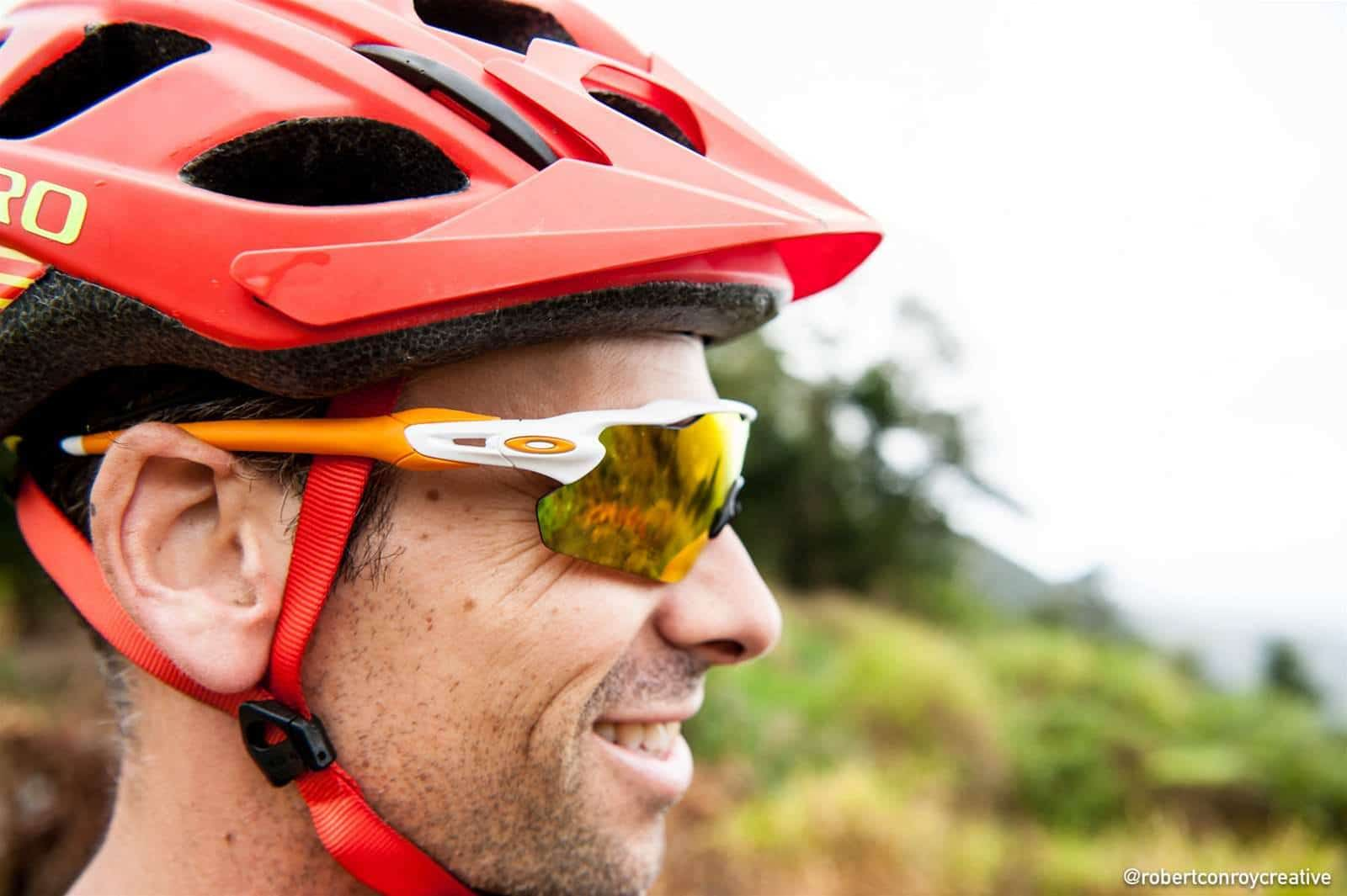 Oakley Sports Eyewear White Orange