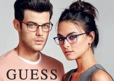 Guess Eyewear Mens Womens Frames Red Purple