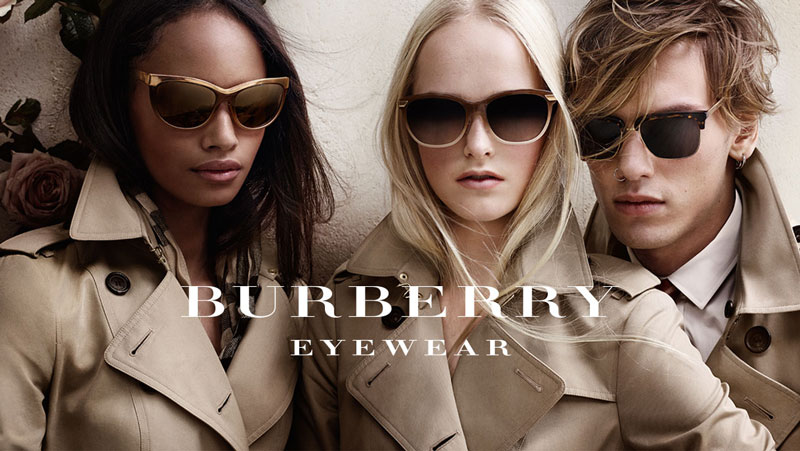 Burberry Eyewear Mens Womens Sunglasses